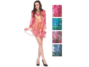 Wholesale Bulk Pack Chiffon Cover Up Assored Colors-GDP4643