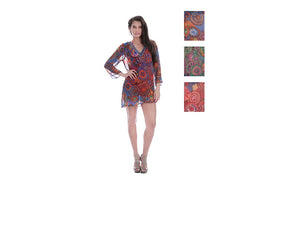 Wholesale Bulk Pack Chiffon Cover Up Assored Colors-GDP4635
