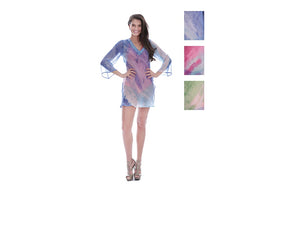 Wholesale Bulk Pack Chiffon Cover Up Assored Colors-GDP4633