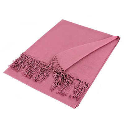 Wholesale Bulk Pack Solid Pashmina Scarf-Berry-GDP1417