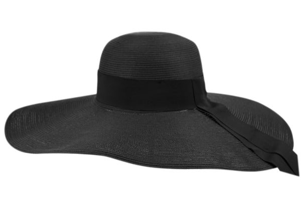 Wholesale Bulk Pack Wide Brim Solid Color Sun Floppy Hats-GDP1293