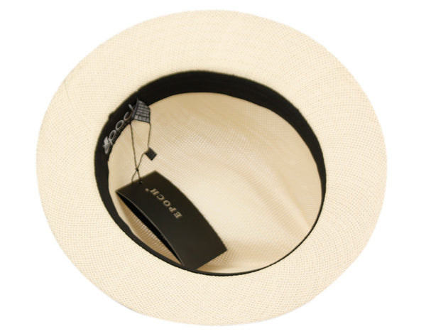 Wholesale Bulk Pack Panama Paper Straw Hats With Grosgrain Band-GDP3493