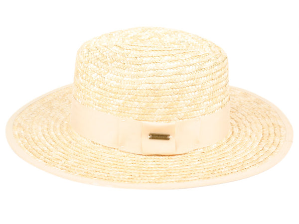 Wholesale Bulk Pack Straw Panama Hats With Grosgrain Band-GDP3499