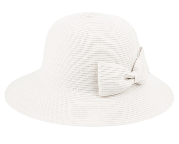 Wholesale Bulk Pack Poly Braid Bucket Sun Hats With Ribbon-GDP1228