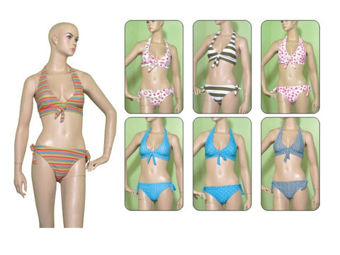Wholesale Bulk Pack 2Pc Swimsuit On Hanger-GDP606