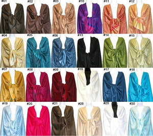 Wholesale 12-Pack Assorted Colors Pashmina Wrap-GDP1599