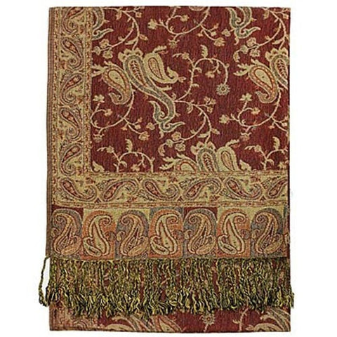 Wholesale Rose Paisley Pashmina Scarf-GDP1457