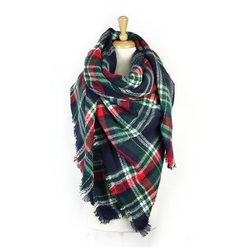 Wholesale Bulk Pack Blanket Scarf-GDP3729