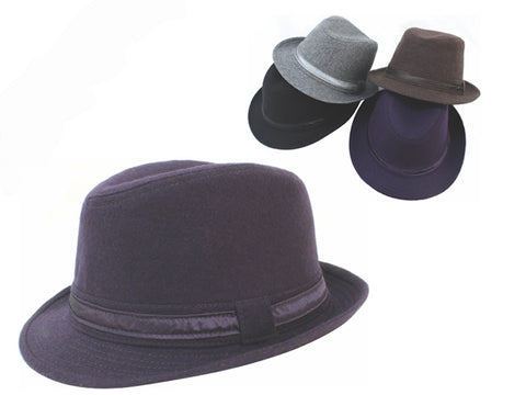 Wholesale Bulk Pack Fedora Hats-GDP4028