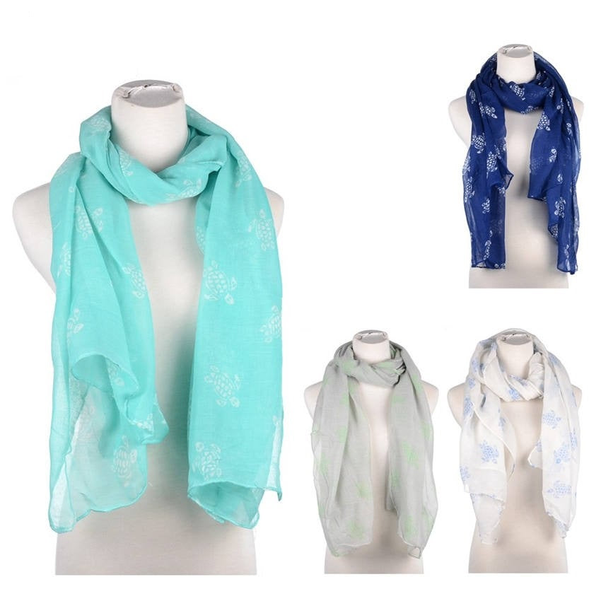 Wholesale Bulk Pack Fashion Turtles Scarf GD5062
