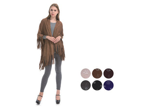 Wholesale Bulk Pack Poncho Sweater-GDP4298