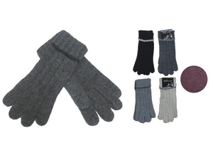 Wholesale Bulk Pack Fashion Thick Knitted Cotton Gloves-GDP4054