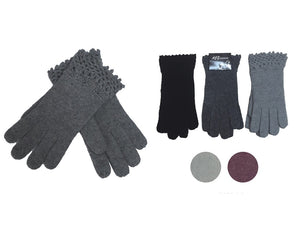 Wholesale Bulk Pack Fashion Thick Knitted Cotton Gloves-GDP4048