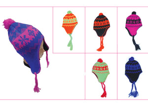 Wholesale Bulk Pack Neon Beanie Hat-GDP4002