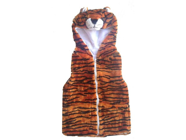 Wholesale Bulk Pack Vest With Tiger Hoody For Kids-GDP4125