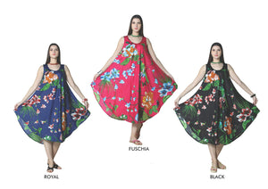 Wholesale Bulk Pack Rayon Printed Dress-GDP4460