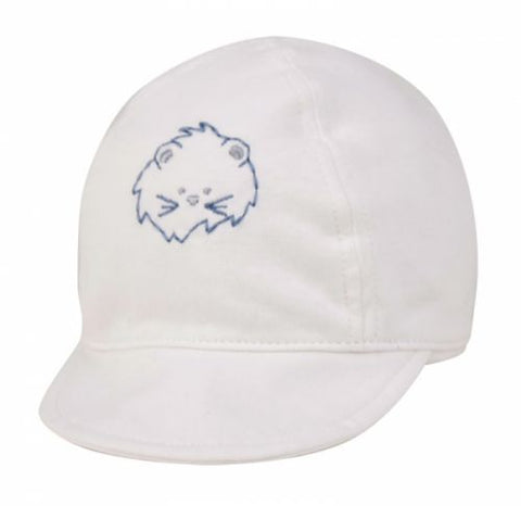 Wholesale Bulk Pack White Cotton Baby Cap-GDP407