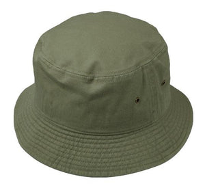 Wholesale Bulk Pack Plain Cotton Spring/Summer Bucket Hats-GDP371