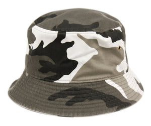 Wholesale Bulk Pack Denim Bucket Hats Bk1889Denim/Camouflage-GDP516