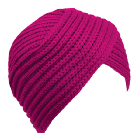 Wholesale Bulk Pack Chunky Knit Turban Style Beanie-GDP2769