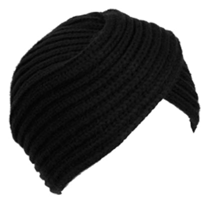 Wholesale Bulk Pack Chunky Knit Turban Style Beanie-GDP2777