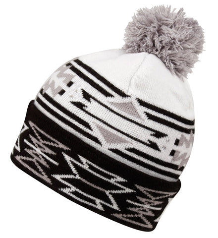 Wholesale Bulk Pack Knit Aztec Beanie Hat-GDP2726