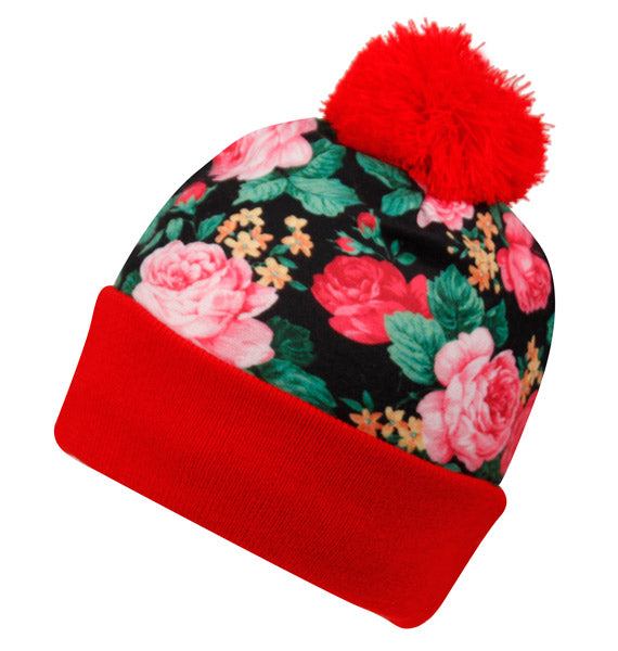 Wholesale Bulk Pack Leopard Knit Beanies-GDP2799