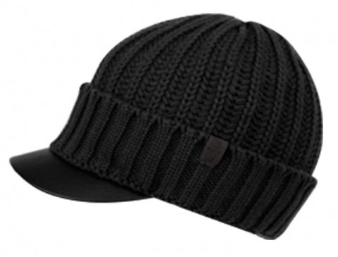 Wholesale Bulk Pack Soft Stretch Knit Visor Beanie W/Fleece Lining-GDP2723