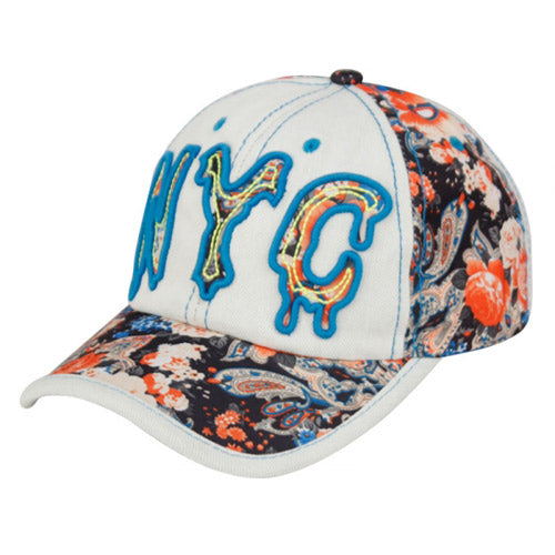 Wholesale Bulk Pack Cotton Baseball Cap With Nyc Logo-GDP2579