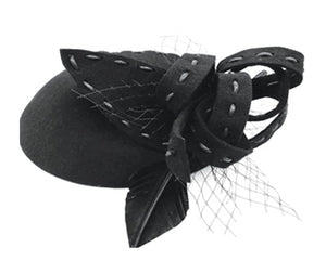 Wholesale Bulk Pack Ladies Wool Felt Fascinator Hats-GDP1168
