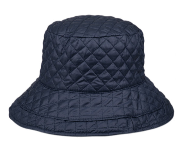 Wholesale Bulk Pack Quilted Stitch Rain Bucket Hats-GDP358