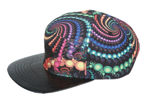 Wholesale Bulk Pack Multi Color Print Five Panel Cap-GDP1927