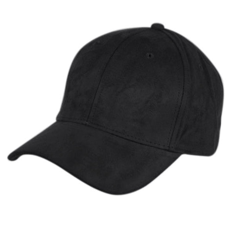 Wholesale Bulk Pack Faux Suede Six Panel Plain Cap-GDP2524