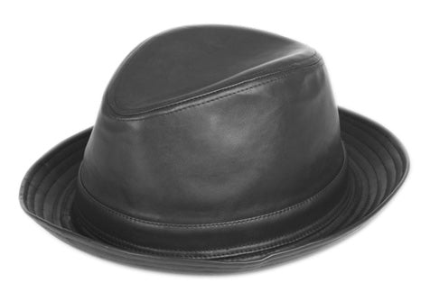 Wholesale Bulk Pack Faux Leather Fedora With Band-GDP3160