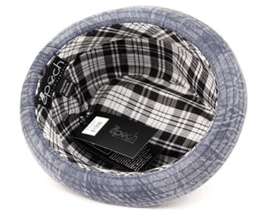 Wholesale Bulk Pack Washed Cotton Fedora Hats-GDP3187
