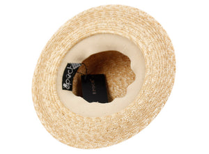 Wholesale Bulk Pack Striped Band Straw Boater Hats-GDP3380