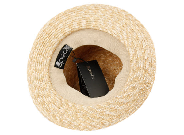 Wholesale Bulk Pack Classic Straw Boater Hats With Black Band-GDP3383