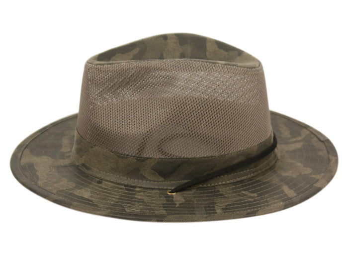 88db83b4dda Wholesale Bulk Pack Outdoor Camouflage Safari Hats With Mesh Crown GDF4014  ...