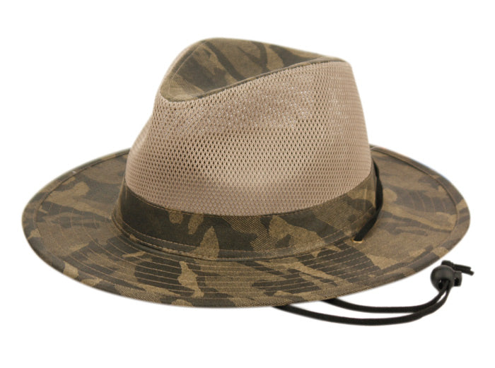 7e2306a61c0 ... Wholesale Bulk Pack Outdoor Camouflage Safari Hats With Mesh Crown  GDF4014