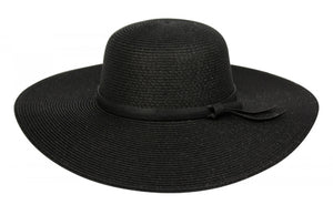 Wholesale Bulk Pack Straw Floppy Hats With Leather Band GDFL2251