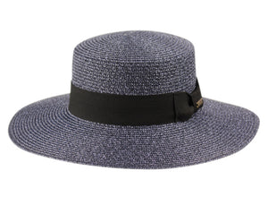 Wholesale Bulk Pack Wide Brim Boater Hats With Grosgrain Band-GDP3270