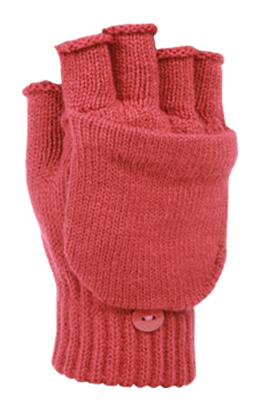 Wholesale Bulk Pack Fingerless Knit Glove With Flip GDGL2009