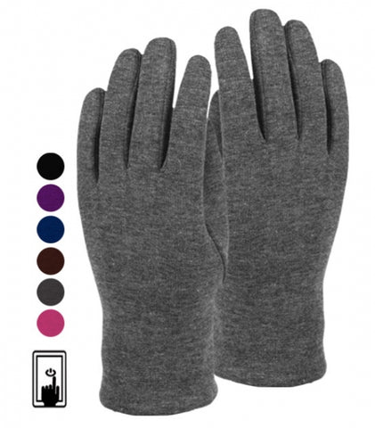 Wholesale Bulk Pack Ladies Jersey Touch Screen Glove GDGL2025
