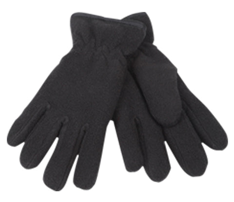 Wholesale Bulk Pack Kids Winter Fleece Glove GDGL2032Black