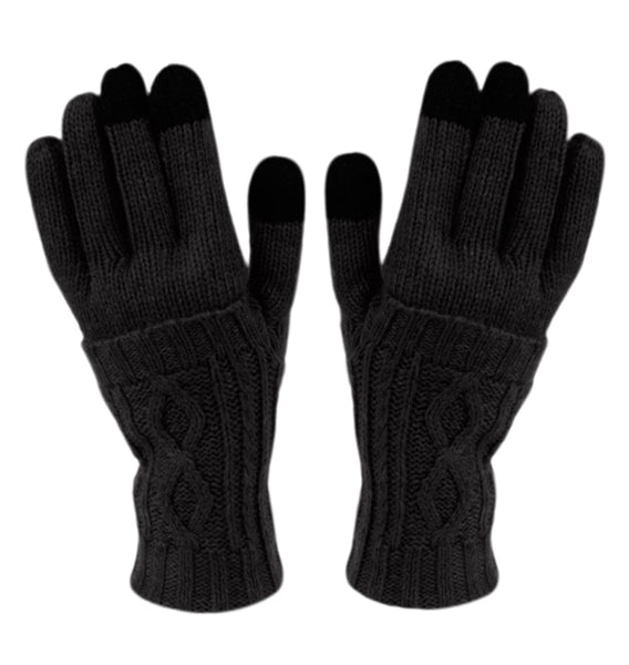 Wholesale Bulk Pack Double Layer Knit Glove With Screen Touch GDGL2754