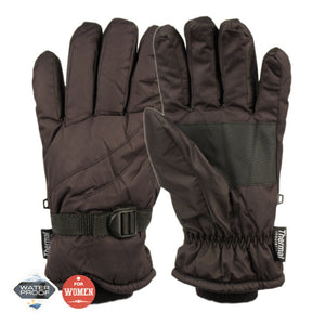 Wholesale Bulk Pack Ladies Waterproof Ski Glove W/Thermal Fleece Lining GDGL3011Women