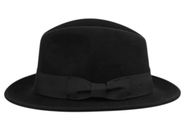 Wholesale Bulk Pack Milano Felt Fedora Hats With Grosgrain Band-GDP3603
