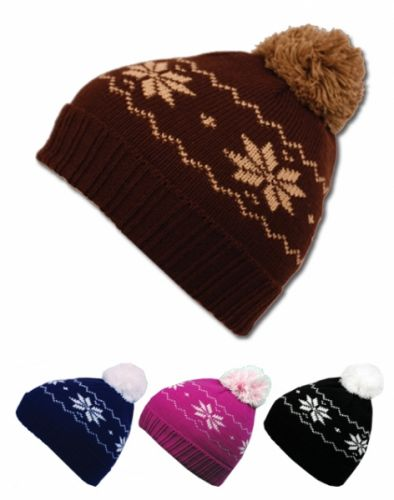Wholesale Bulk Pack Kids Beanies With Pompom-GDP409