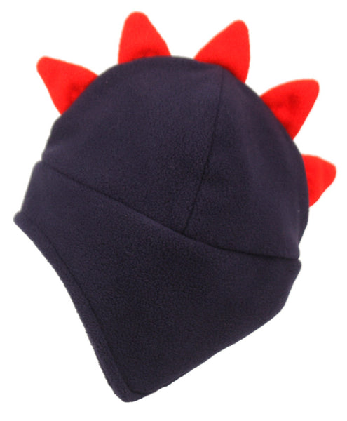 Wholesale Bulk Pack Kids Winter Freece Hat With Top Red Crown-GDP202