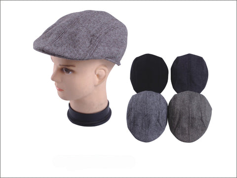 Wholesale Bulk Pack Men's Beret Hat-GDP3813